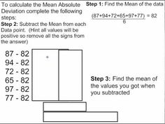 Worksheet Mean Absolute Deviation Worksheet maze the box and ojays on pinterest mean absolute deviation