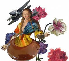 Flowers, doughnuts and floaters on Behance