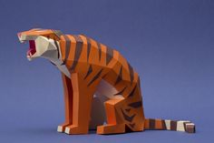 Low Polygon Count Paper Animals by Carolina and Juan