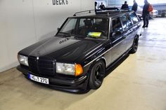 280TE AMG wagon (W123). The very rare non diesel, manual badass Benz wagon.