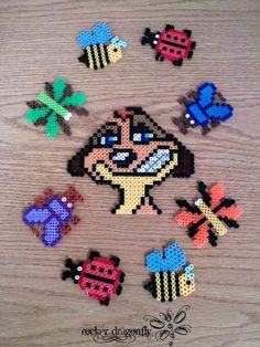 Timon The lion king perler beads by RockerDragonfly on deviantart