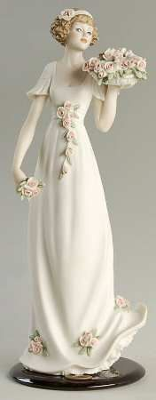 Scent Of Spring, ARMANI-ITALY PORCELAIN FIGURINE.
