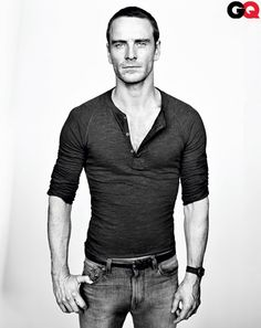 Michael Fassbender. Ladies what do yo expect from a guy with a last name like that, a face like that and a movie like Shame. Need to say more?... P.s. Christian Grey