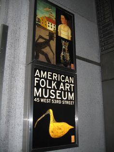 American Folk Art Museum NYC