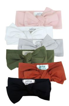 88d673915b15d Organic cotton knotted headbands by Lucy Lue Organics. The cutest hair  accessory for baby girls! One size fits baby - child.