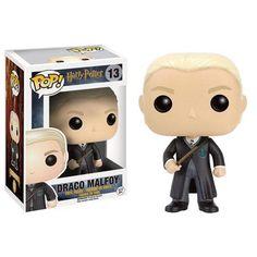 Funko Pop! Harry Potter Draco Malfoy Draco Malfoy es el enemigo número uno de Harry Potter entre los alumnos de Hogwarts. Malvado y…