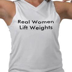 Real women lift weights.