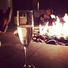 "@Maureen Meehan's photo: ""#champagnefireside #champ #omni #fire"""