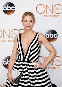 Jennifer Morrison on Once Upon a Time 100th episode red carpet - 20 February 2016