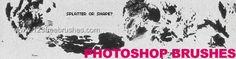 Splats Shapes - Download  Photoshop brush http://www.123freebrushes.com/splats-shapes/ , Published in #GrungeSplatter. More Free Grunge & Splatter Brushes, http://www.123freebrushes.com/free-brushes/grunge-splatter/ | #123freebrushes