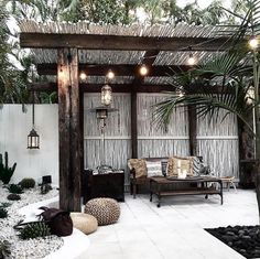 There are lots of pergola designs for you to choose from. You can choose the design based on various factors. First of all you have to decide where you are going to have your pergola and how much shade you want. Decor, Outdoor Spaces, Outdoor Design, House Design, Outdoor Space, Home, Pergola Plans, House, Outdoor Decor
