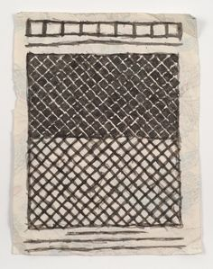 James Castle, 'Untitled (Abstract pattern)', n.d., Fleisher/Ollman | Artsy