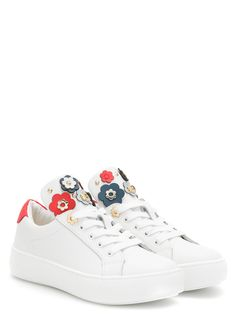 013c512138 MICHAEL KORS sneakers ZIA MAVEN MINDY white for girls