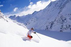 El Arpa, sky freeride, la subida se hace en snowcat , Solo para esquiadores avanzados , se hace con un gia