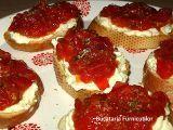 9 Retete de bruschette Bruschetta, Feta, Pancakes, Cheesecake, Food And Drink, Breakfast, Desserts, Salads, Morning Coffee
