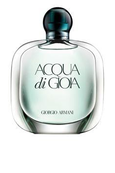 Acqua di Gioia de Giorgio Armani é um perfume Floral aquático. As notas de topo são Limão verdadeiro Amalfi e Hortelã as notas de coração são Jasmim, Pimenta rosa e Peônia as notas de fundo são Ládano francês, Cedro da Virgínia e Açúcar.