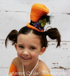 Crochet Halloween mini top
