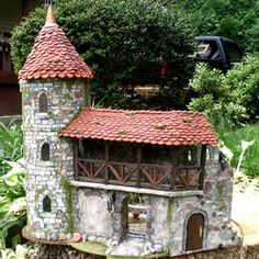 """Midnight in the Secret Garden of the Fairies"" dollhouse"