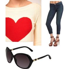 Weekend chic & casual.....