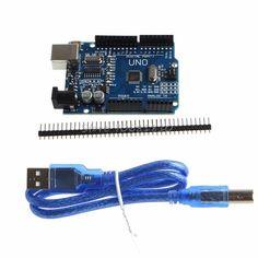 For UNO R3 CH340 ATMEGA328P USB Development Board For + USB Cable -R179 Drop Shipping