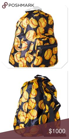 """Coming soon Perfect size for pre-school aged child. Microfiber constructed backpack is made to endure the rough and tumble action of young kids. 2 external zippered pockets, adjustable shoulder strap, lightweight, water resistant. 11""""L x 9""""W x 3.5""""D Boutique Accessories Bags"""