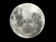 Supermoon as seen from International Space Station. 20 March 2011