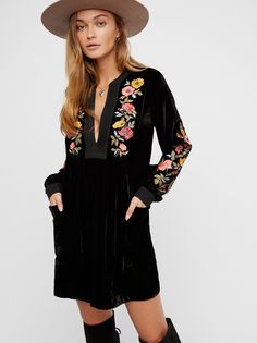 Mia Embroidered Dress from Free People!