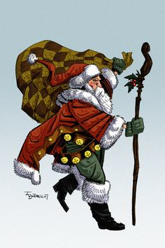 Santa 2009 by Boatwright.deviantart.com on @DeviantArt