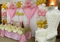 Parisian Baby Shower Baby Shower Party Ideas - Home Page Deco Baby Shower, Baby Shower Balloons, Girl Shower, Shower Party, Baby Shower Parties, Baby Shower Themes, Shower Ideas, Baby Shower Backdrop, Parisian Baby Showers