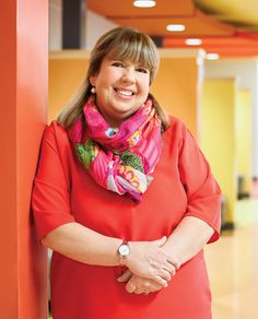 Lynne Charette, OCT, sets the tone that flows from principal to teacher to student. Teacher, Student, Fashion, Moda, Professor, Fashion Styles, College Students, Fashion Illustrations, Fashion Models