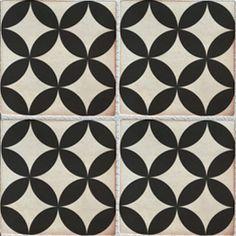 Decorative Tiles Sevilla Decor 200X200 Black & White #decorative #tiles