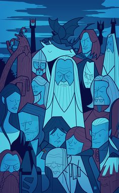 The Two Towers by Ale Giorgini | Art Print | Society6