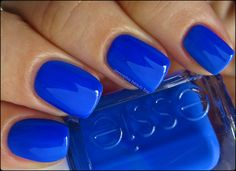 """Essie color--""""Bouncer, It's Me."""" What a great name. This is part of the Essie 2013 Neon Collection. Striking. I can't wait to put it on my toes!"""