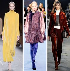 AW16 Fashion Trends on the catwalk at Valentino, Roksanda and Ellery