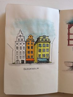 Sketchbook Skool – Week Three – Andrea Foenander