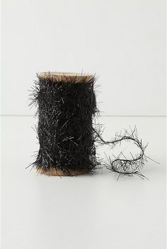 black tinsel twine, for my packages, $16.00