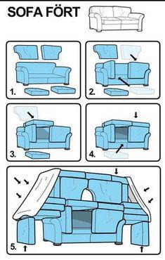Klicke um das Bild zu sehen. Diy sofa fort - #DIY #fort #Sofa Haha