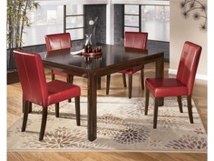 dining room square dining table d432 38 key home furnishings portland