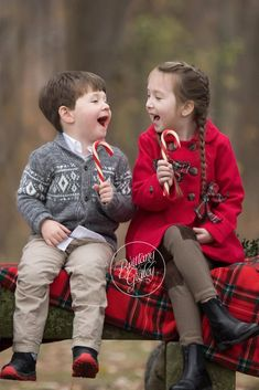 Candy Cane Christmas Images | Kids Christmas Photo Ideas | Brittany Gidley Photography LLC