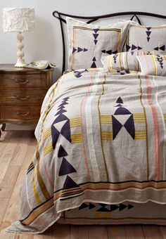 Isletta Bedding Set from Anthropologie...Sold out on their site, but I will search Ebay every day until I find one! lol I LOVE this!!!