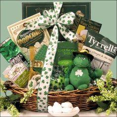 st patty's daynew basket hope i win for my birthday