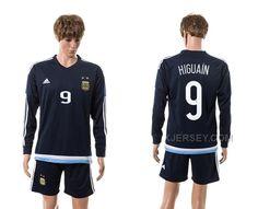 http://www.xjersey.com/201516-argentina-9-higuain-away-long-sleeve-jersey.html Only$35.00 2015-16 ARGENTINA 9 HIGUAIN AWAY LONG SLEEVE JERSEY Free Shipping!