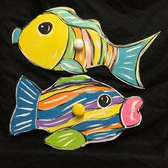 Poolside towel rack  Fish pool towel holder  by JackJacksWayart