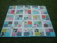 layer cake jelly roll quilt...could also be a charm pack/jelly roll quilt