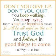 Faith, Trials - Jeffrey R Holland