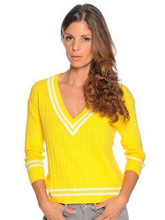 Playlife Pullover geel € 19,90 | -60% voordelig kopen