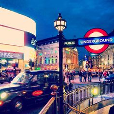 Piccadilly Circus nel London, Greater London