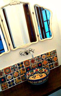 Spanish style homes – Mediterranean Home Decor Decor, Style Tile, Mexican Tile Floor, Mexican Home Design, Spanish Style Homes, Mediterranean Home Decor, Home Decor, Dream Craft Room, Iron Decor