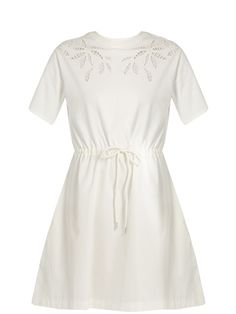 See By Chloé Cotton-jersey dress