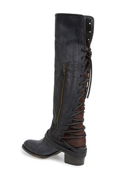 Freebird by Steven 'Coal' Tall Leather Boot (Women) | Nordstrom
